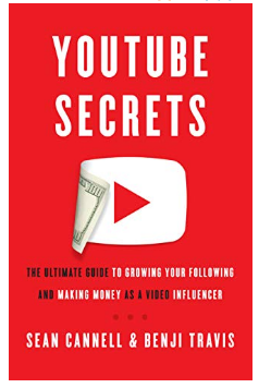 Best Books for YouTuber: YouTube Secrets-The Ultimate Guide to Growing Your Following and Making Money as a Video Influencer