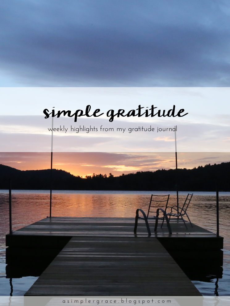 Sharing my #gratefulheart on the blog today - Simple Gratitude | 48 - A Simpler Grace #gratitude #feelingthankful