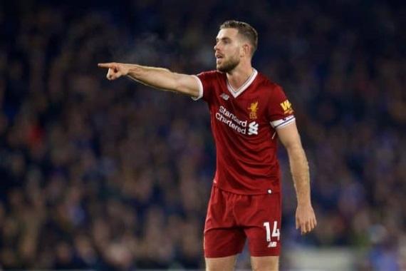 Jordan Henderson Liverpool captain