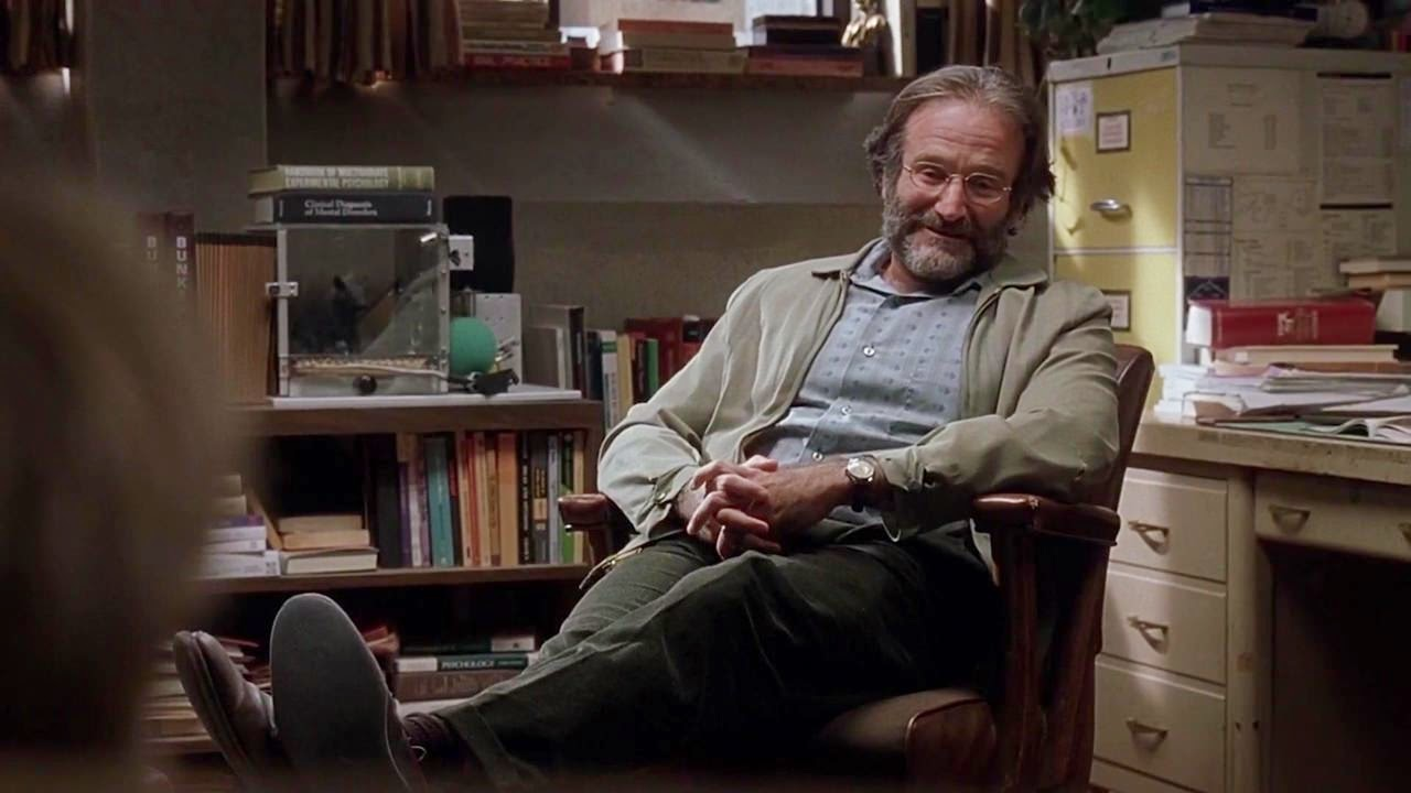 good will hunting counseling theories Good will hunting personality notes on good will hunting • attachment style: avoidant or anxious ambivalent • self-loathing turned into self deprecating behavior • learned helplessness • cynical of everyone • an abused foster child, he subconsciously blames himself for his unhappy upbringing and turns this.