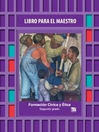 Libro Para el maestro Telesecundaria Formación Cívica y Ética  Segundo grado 2019-2020