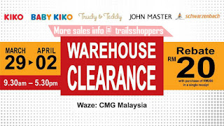 Kiko & Baby Kiko Warehouse Clearance Sales 2017