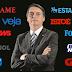 Ataque em massa contra Jair Bolsonaro revela desespero e a falência do jornalismo no país