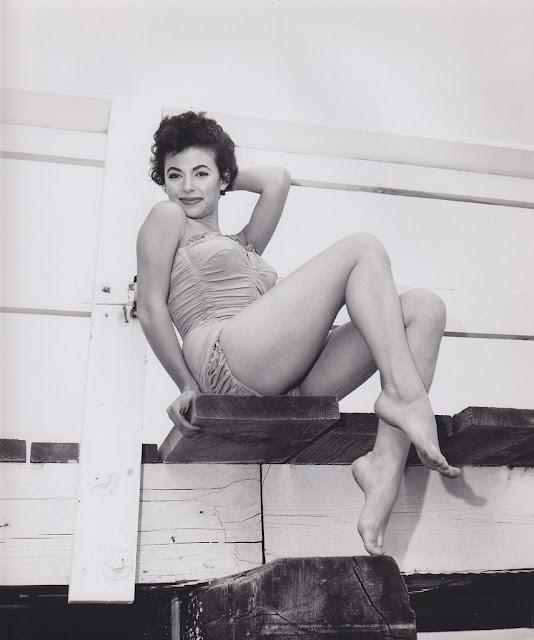 Klassisk Hollywood Pinup smuk og sexet portræt-5050