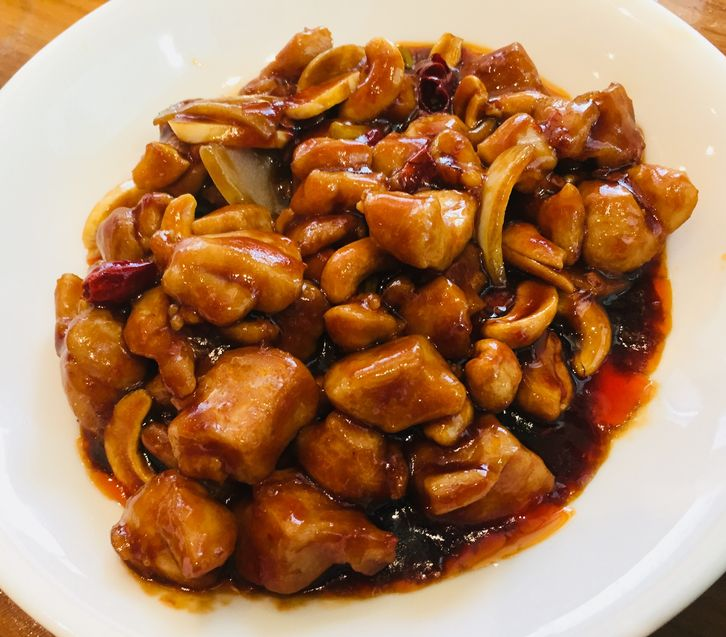 Paradise Dynasty's kung pao chicken