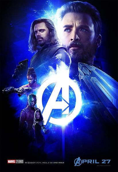 Avengers: Infinity War Captain America - Winter Soldier - Shuri - Nebula - Mantis