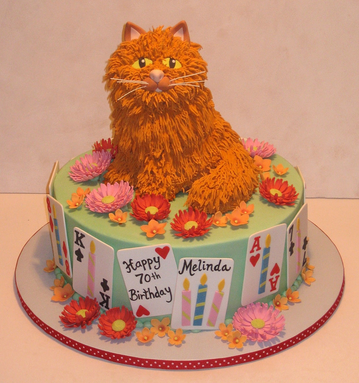 Birthday Orange Cat: 1000+ Images About Cakes .......cats On Pinterest