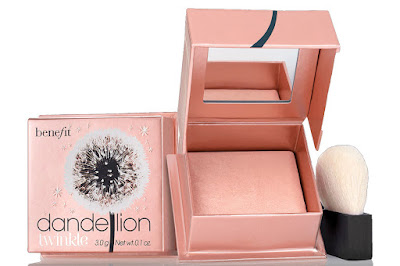 Dandelion brightening finishing powder
