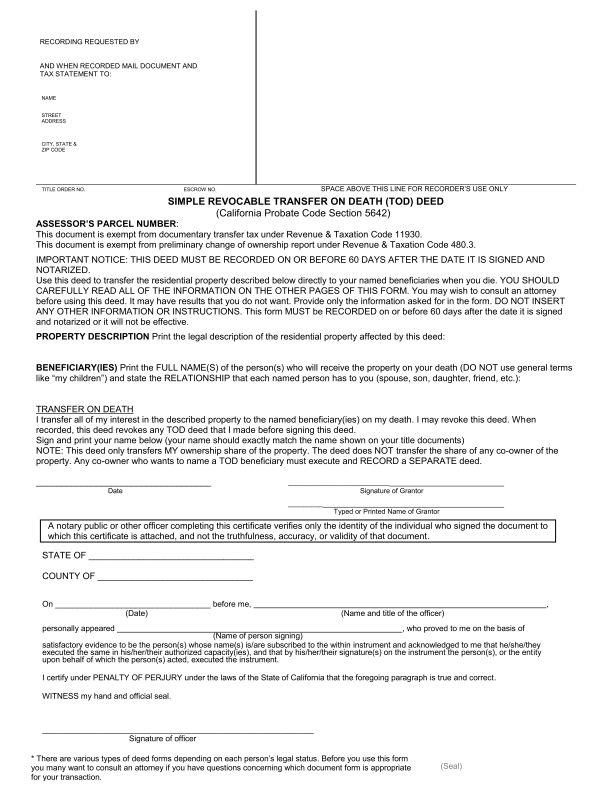 grant deed form california - Seatledavidjoel