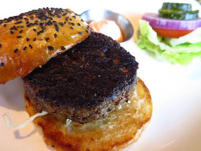 Luke's Oyster Bar & Chop House, blue label burger