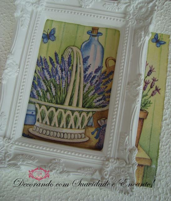 moldura provençais na decoração