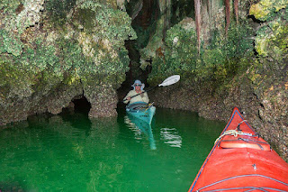 Phang Nga Bay cave kayaking