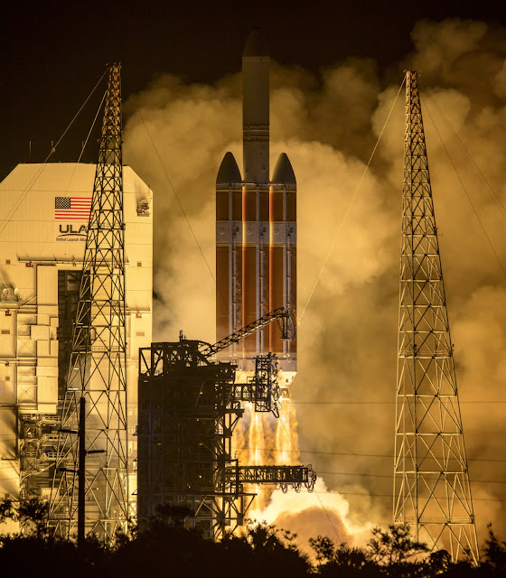 Parker Solar Probe launches on historic journey to touch the sun