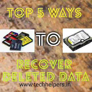 Top methods to recover deleted data without pc or laptop