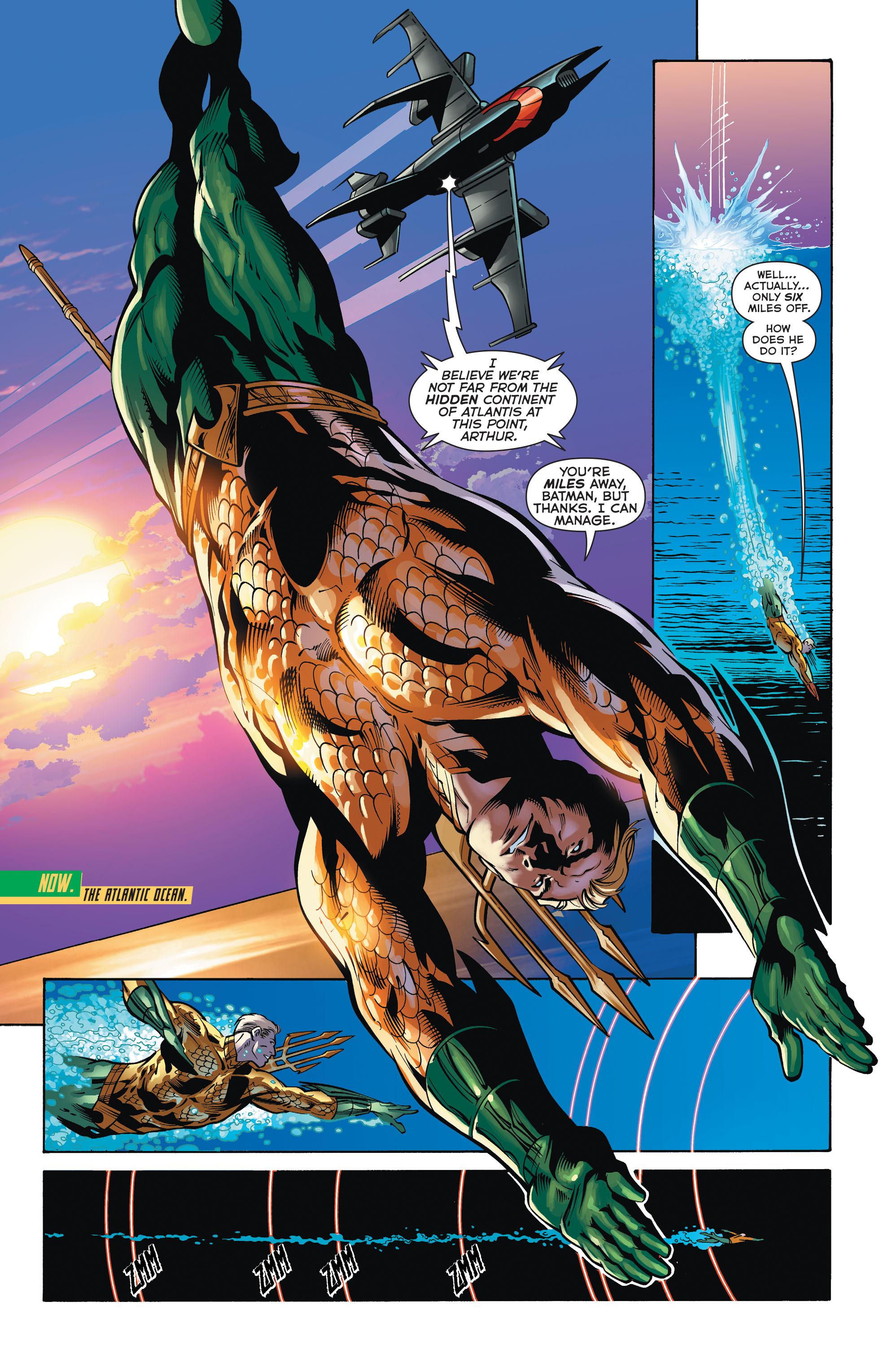 Read online Aquaman (2011) comic -  Issue #32 - 2