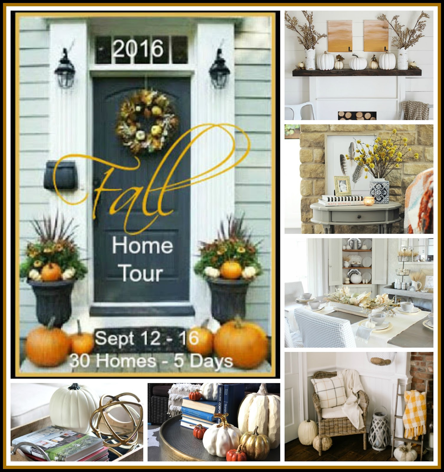 A Stroll Thru Life 2016 Fall Home Tour Tuesday Lineup