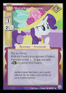 My Little Pony Marvelous Chapeau Premiere CCG Card
