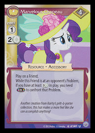My Little Pony Marvelous Chapeau Premiere CCG Card