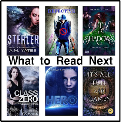 Looking for a good book to read?  Check out this great selection of paranormal, dystopian, magic, fantasy, and alien books.  There's a little bit of fun and excitement for everyone