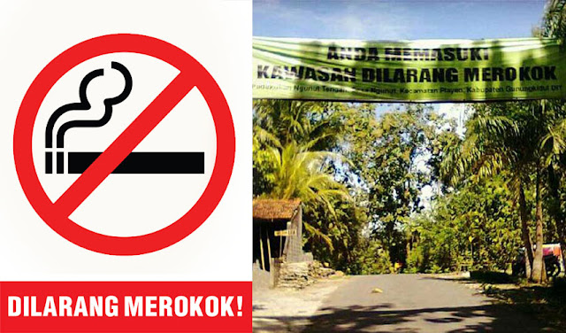 Kawasan Bebas Rokok di Yogyakarta, Desa Ngunut Gunung Kidul