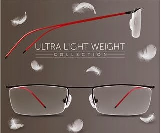 Buy any 2 Ultra Light Weight Eyeglasses worth Rs.2990 (Rs.1495 each) for Rs.749 Only (Rs.375 each)