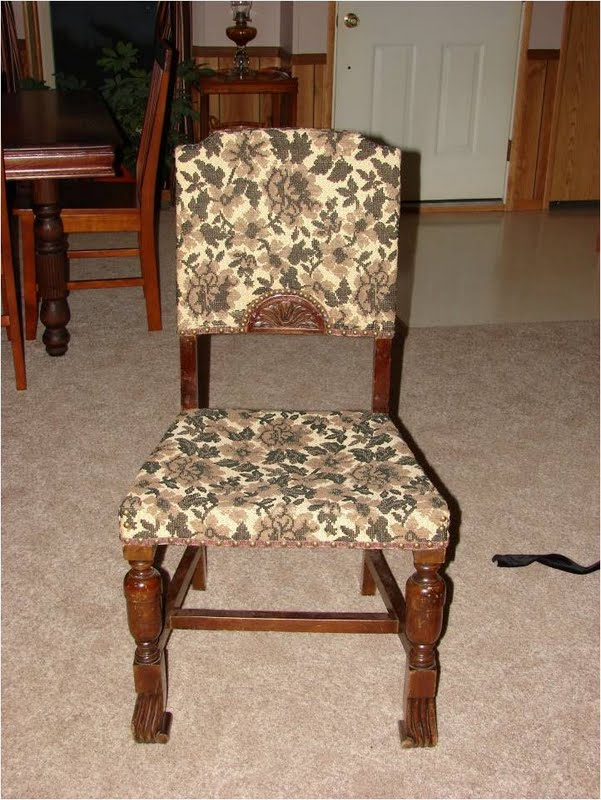 Chick in the Styx: An ugly chair & a cool ottoman