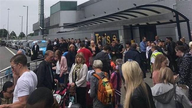 Manchester airport terminal evacuated by security officials over possible threat