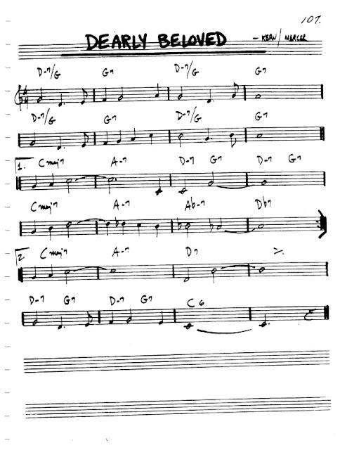 Partitura Violín Kern and Mercer