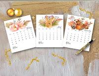 Calendarios 2016 para imprimir. Image