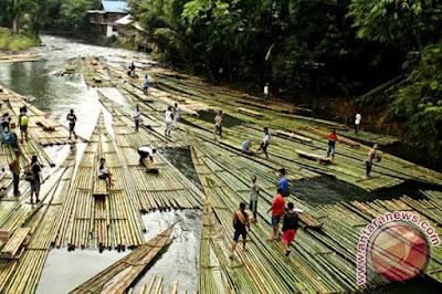 Desa Seribu Bambu akan dijadikan Wisata Baru di Loksado