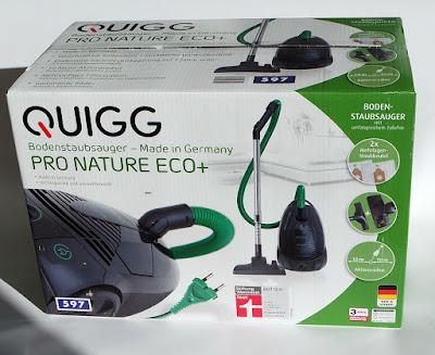 Aldi Staubsauger Quigg Pro Nature Eco+