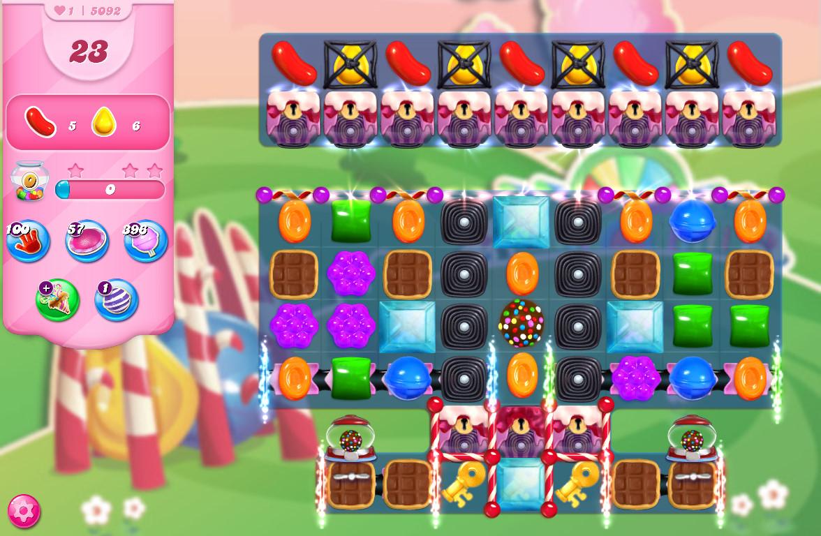 Candy Crush Saga level 5092
