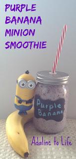 purple banana minion