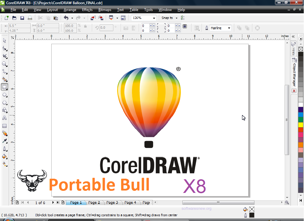 Download Portable Free Softwares Corel Draw X8 Portable 32 64bit Free Download