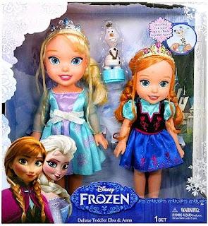 Best Frozen Gift Ideas: Toddler Dolls
