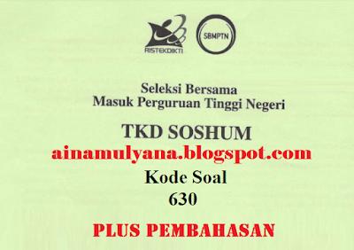 SOAL SBMPTN 2018 – 2019 SOSHUM DAN PEMBAHASAN - PDF