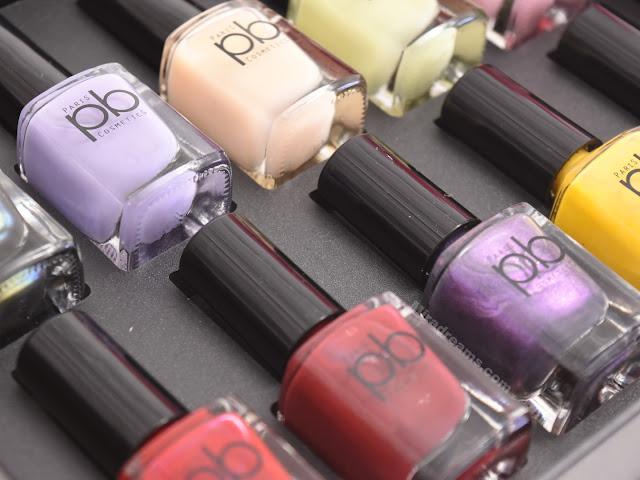 Les nouveautés PB Cosmetics, les vernis à ongles.