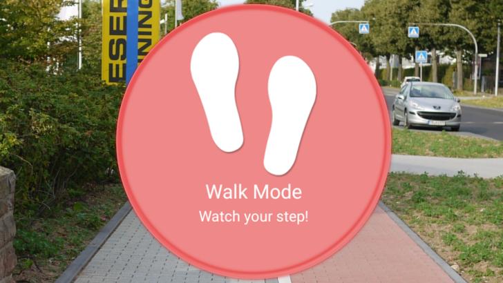 Download Walk Mode App
