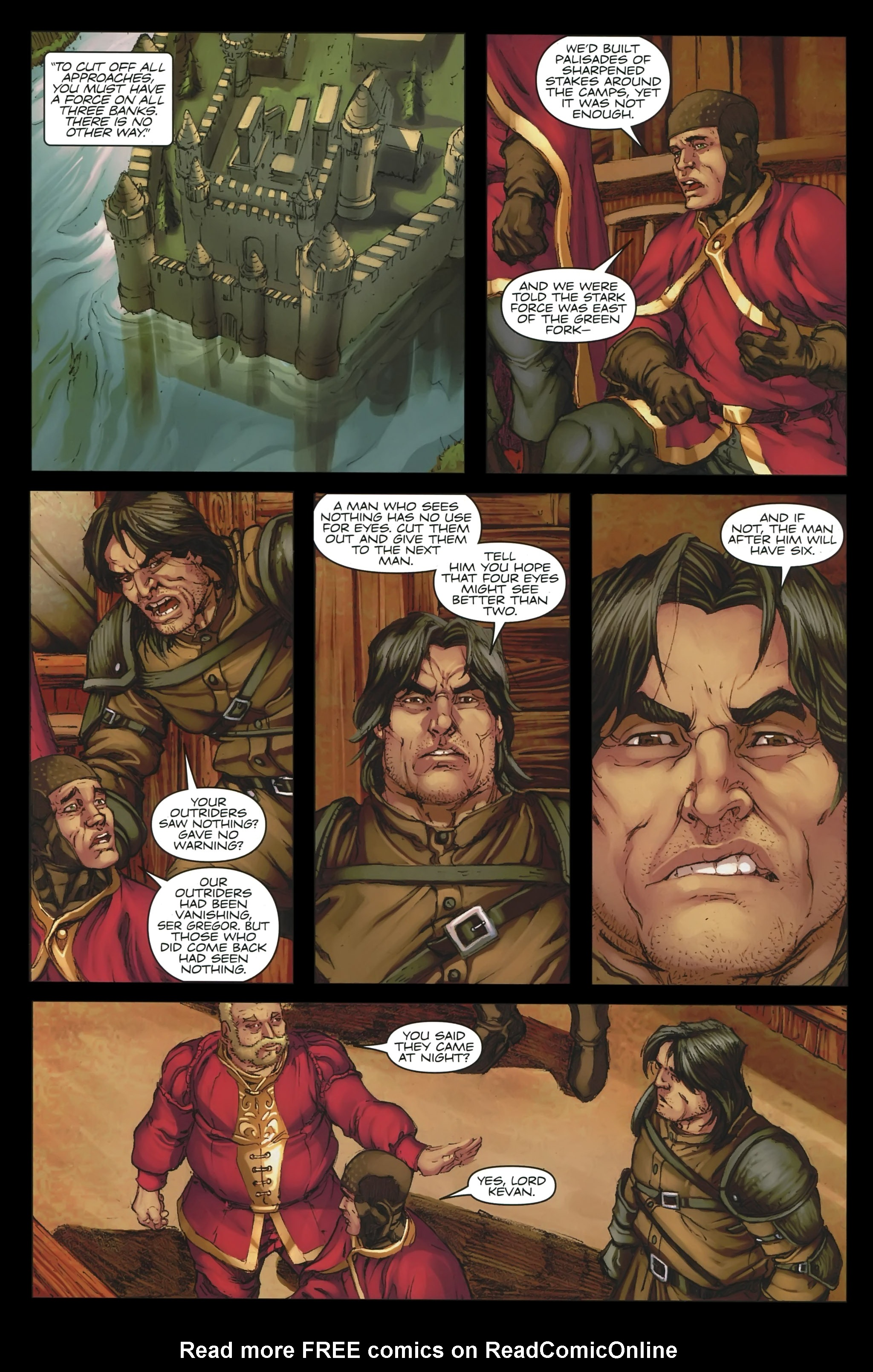 Read online A Game Of Thrones comic -  Issue #23 - 14