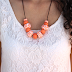 How To Make Clay Beads Necklace