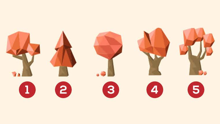 Qual árvore mais te agrada? - Teste do amor