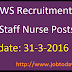 UKHFWS Recruitment 2016 Apply for 206 Staff Nurse Posts