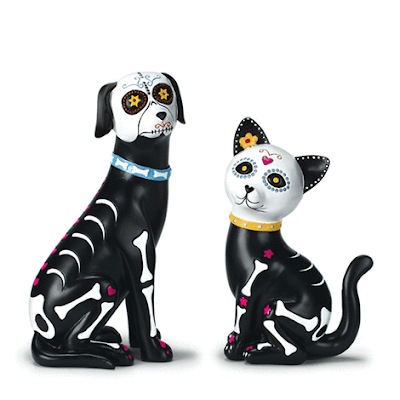 Avon - Day of the Dead Pet Figures
