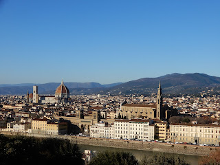 フィレンツェの街並み