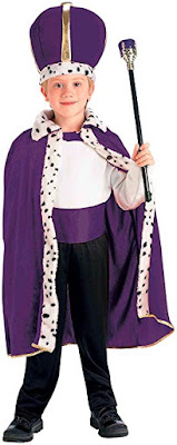 King Ahasuerus Purim costume