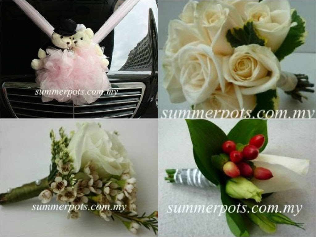 car decor bouquet corsage