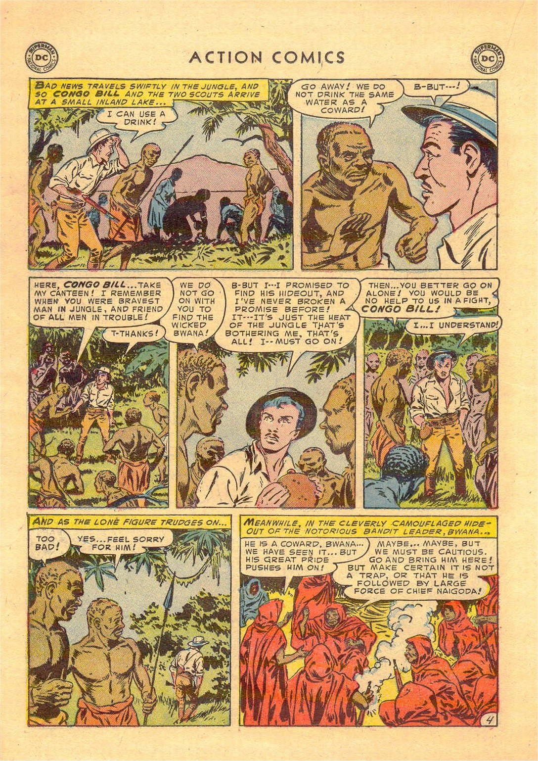 Read online Action Comics (1938) comic -  Issue #181 - 19