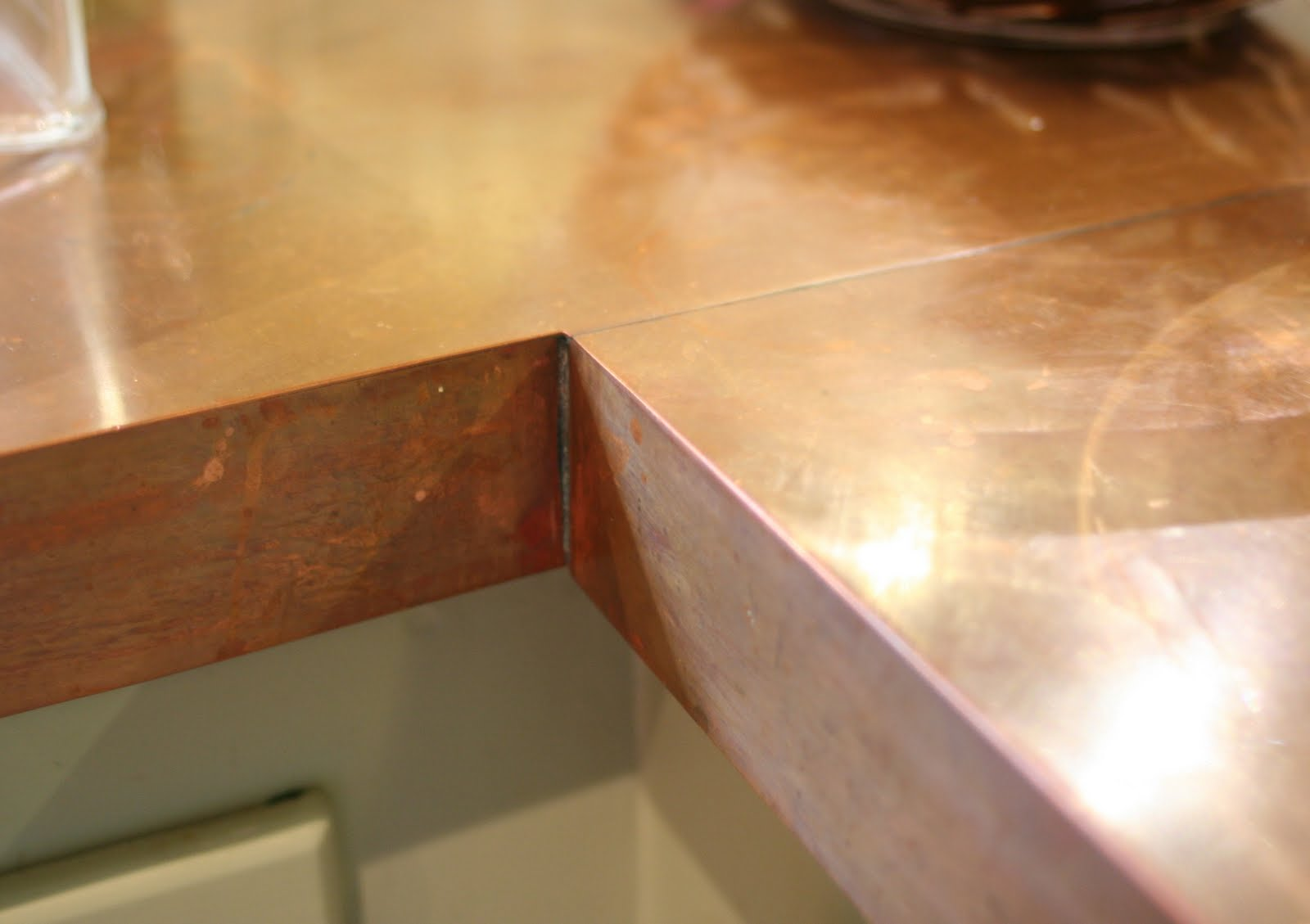 Lilliedale: DIY Copper Countertops