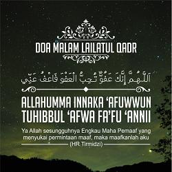 Dp Doa Malam Lailatul Qadar