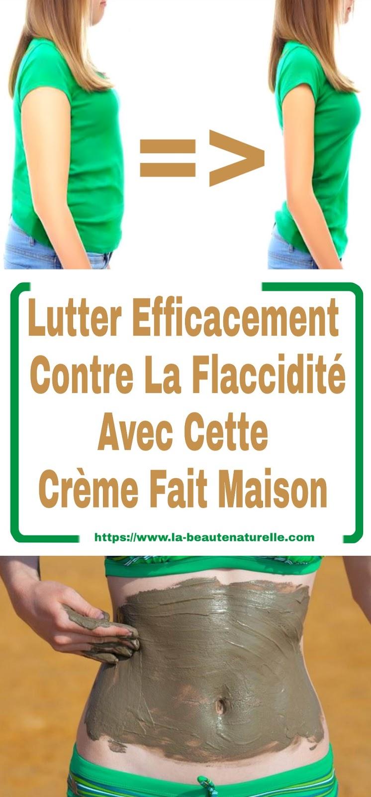 Lutter Efficacement Contre La Flaccidité Avec Cette Crème Fait Maison